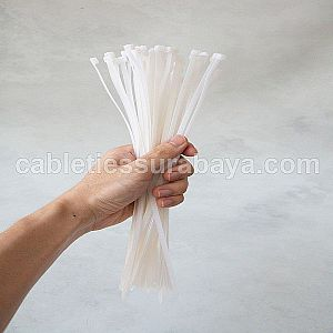 CABLE TIES 4,8 X 300 WHITE